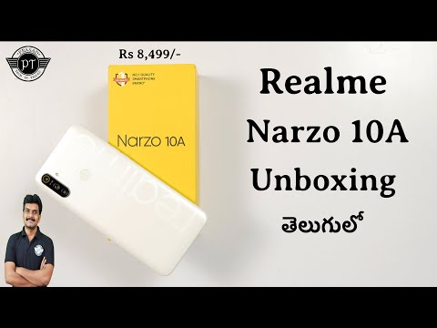 realme-narzo-10a-unboxing-&-initial-impressions-ll-in-telugu-ll