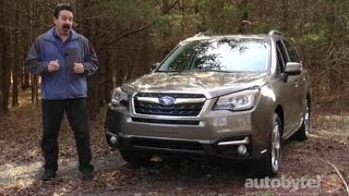 2017 Subaru Forester 2.5i Touring Test Drive Video Review