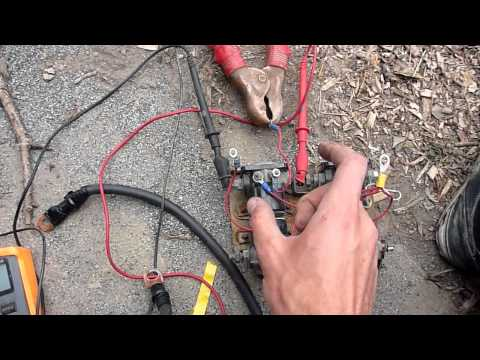 Rewiring and Troubleshooting a Warn M8000 Winch - Part 2 - YouTube on
