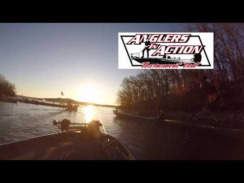 Anglers in action tournament Lake of the ozarks 2\24\2019