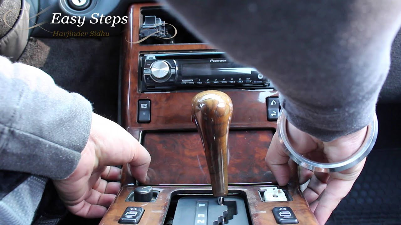 How To Remove Center Wood Console On Mercedes 500sl R129