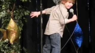 "Will Norton Little Mr. Newton County 2011 sings Justin Bieber ""Baby"""