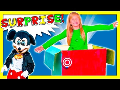 ASSISTANT Jack in the Box Surprise Live Action Mickey Mouse Paw Patrol In Real Life Funny Video