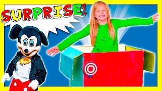 ASSISTANT Jack in the Box Surprise Live Action Mickey Mouse Paw Patrol Funny Video