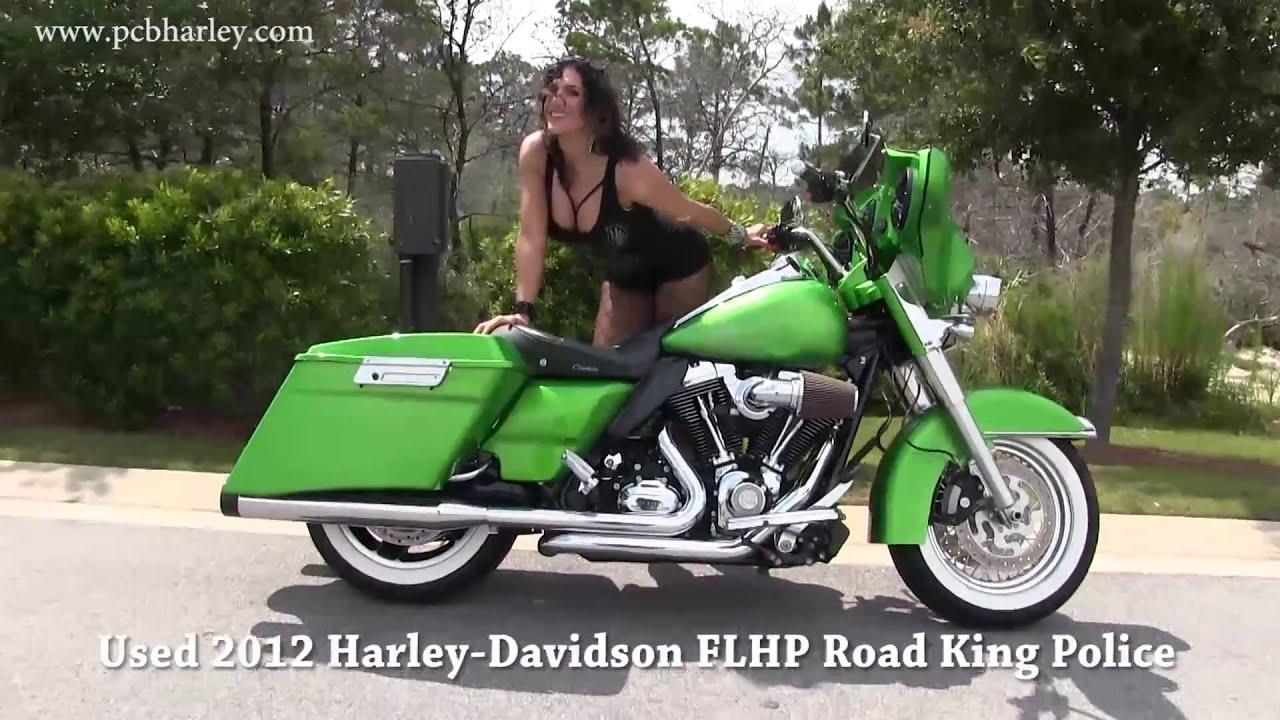Harley Davidson: Used 2012 Harley Davidson Police Road King Custom Paint