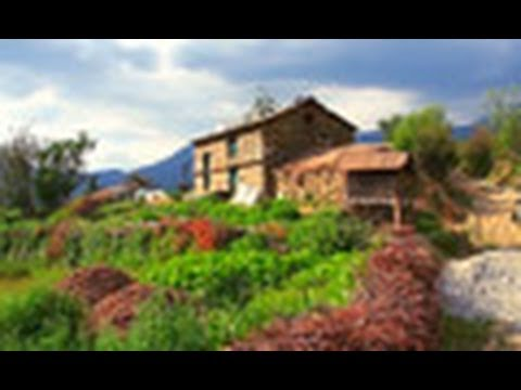 Didna Village Houses, Uttarakhand