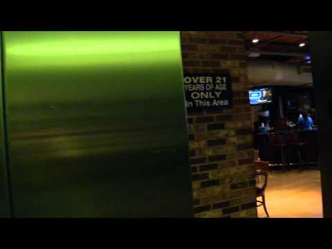 Crappy Schindler Hydraulic Elevator At The NBA City Restaurant, Universal CityWalk, Orlando, FL