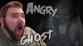 A REAL GHOST IS ANGRY AT ME! Paranormal Expert Agrees! Video Proof!