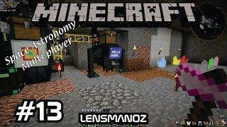 Minecraft - Space Astronomy MP - Ep 13 - Atomic Dissasembler & Digi-Miner