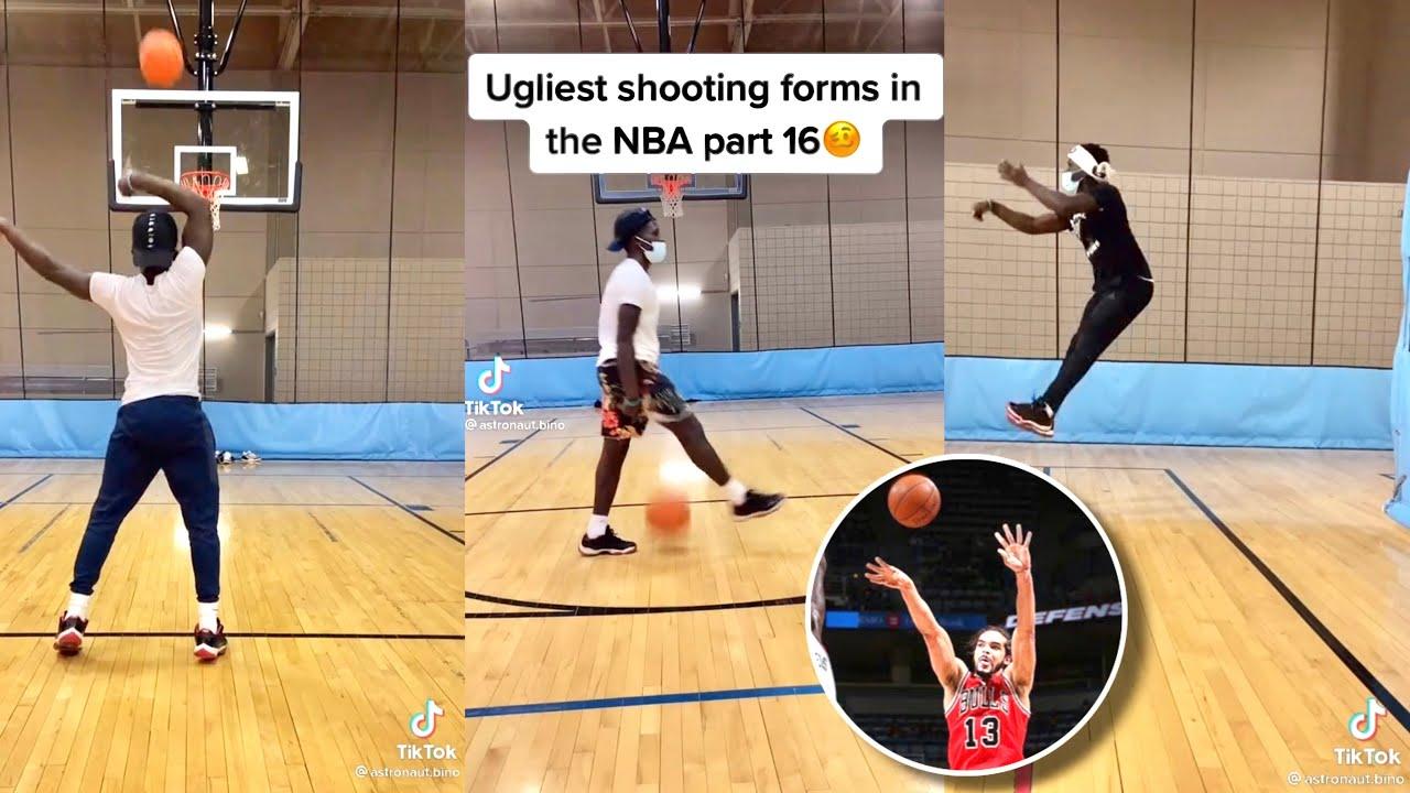 Astronaut Bino Ugliest shooting forms in NBA history compilation