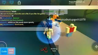 I MET THE CREATOR!!! (CreditsMix) Swim for Admin Roblox