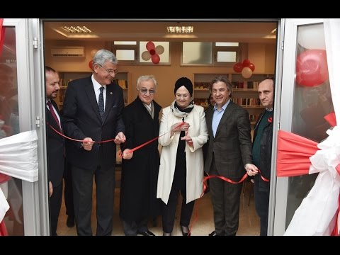 Ahmet Misbah Demircan - Çıksalın Semt Konağı Kütüphane Açılışı
