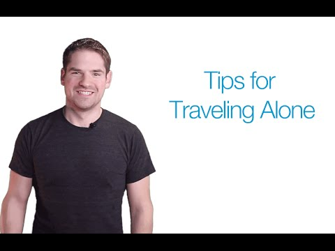 Tips for Traveling Alone