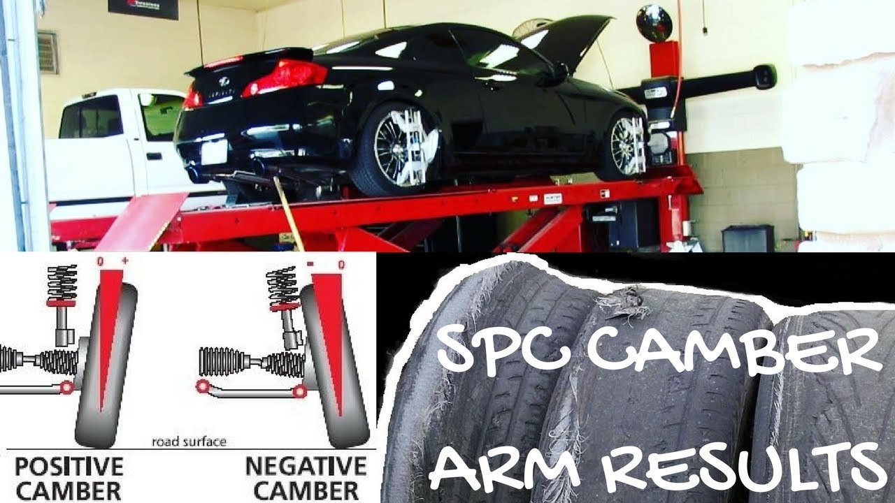 How to fix camber positive wear