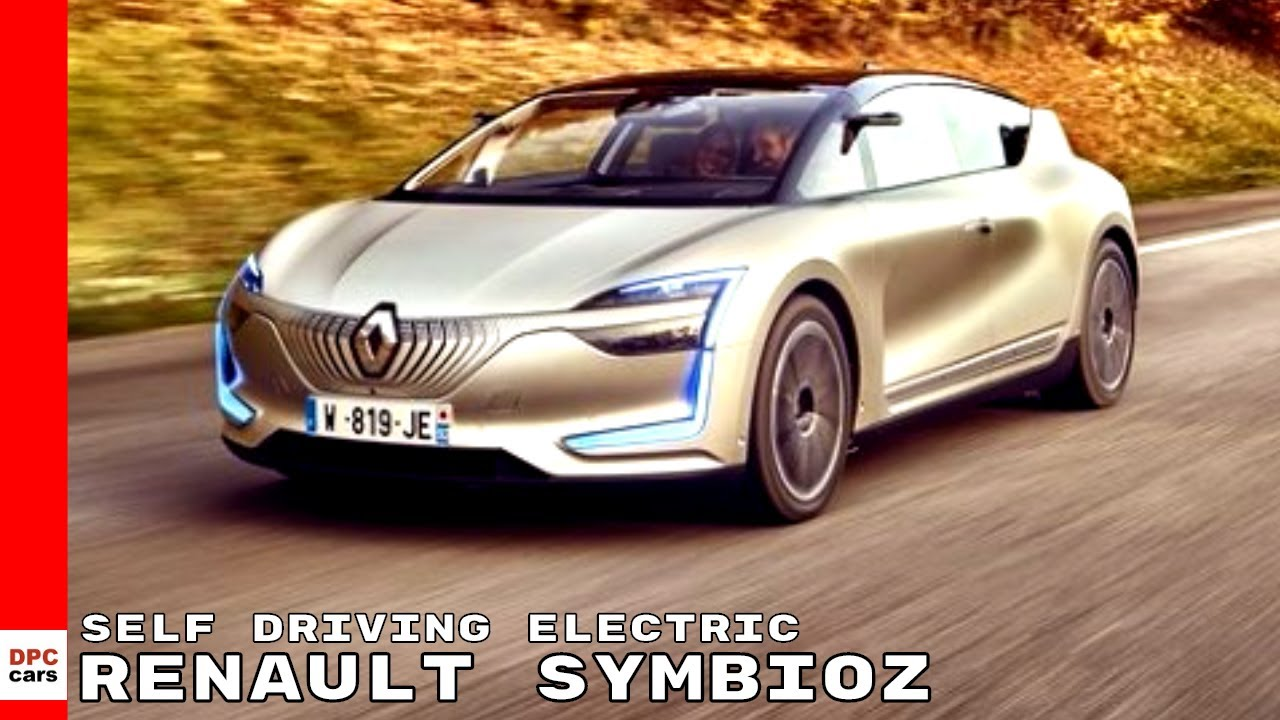 Renault Symbioz Self Driving Electric Youtube