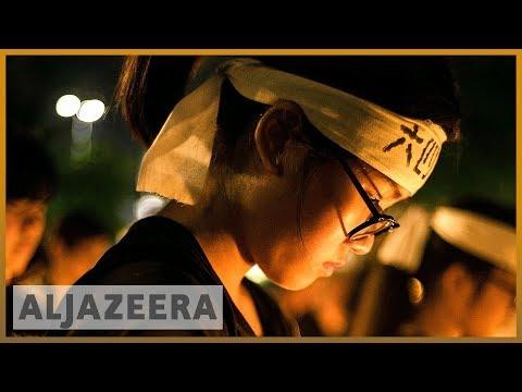 Thousands mark Tiananmen anniversary in Hong Kong