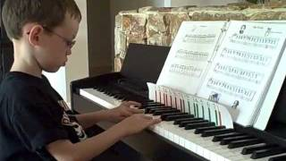 6 Year old Autistic Child loves playing piano