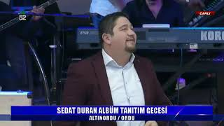 22/12/2019 SEDAT DURAN ALBÜM TANITIM GECESİ - ALTINORDU