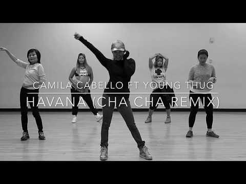 Havana (Cha cha Remix) by Camila Cabelo ft Young Thug Choreography Zumba Dance Pop Chacha