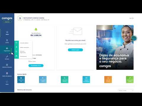 Conheça o Comgás Virtual para clientes comerciais