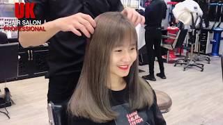 Nhuộm Khói Ánh Rêu - UK, UK Hair, UK Hair Vũng Tàu - Tâm UK ( #UKHAIRSALON )