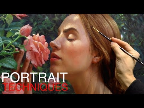 Portrait Painting Techniques - Toning, Gridding and Skin Tones