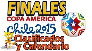 CALENDARIO FINALES COPA AMERICA Horario Clasificados final y 3er puesto Copa América Chile 2015