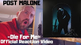"""The BEST reaction video for Post Malones """" Die For Me is here""""!!! Been a hot minute since I did a reaction video. Had to do one for Mr. Post Malones new album!"""