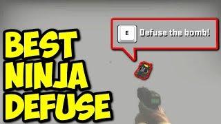 NAJLEPSZY NINJA DEFUSE! - CS:GO FUNNY MOMENTS