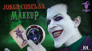 The Joker Makeup Process - Joker Cosplay - AlexWorks - Joker makeup tutorial