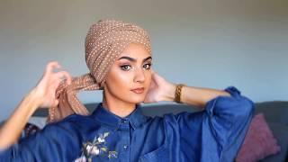 Simple turban tutorial with Roua