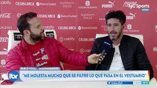 """Pablo Pérez: """"El que sacó a la luz el problema con Beccacece es un cobarde"""""""
