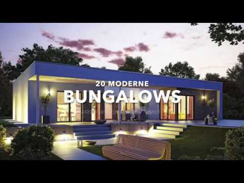 20 moderne Bungalows in einer Slideshow - YouTube