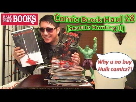 Half Price Books Comic Book Haul 28 (Seattle Hunting II)