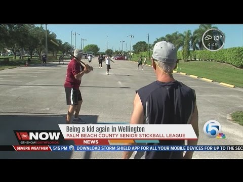Palm Beach County Senior Stickball League