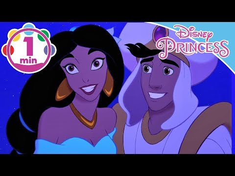 Aladdin  A Whole New World Song  Jasmine And Aladdin  Disney Princess