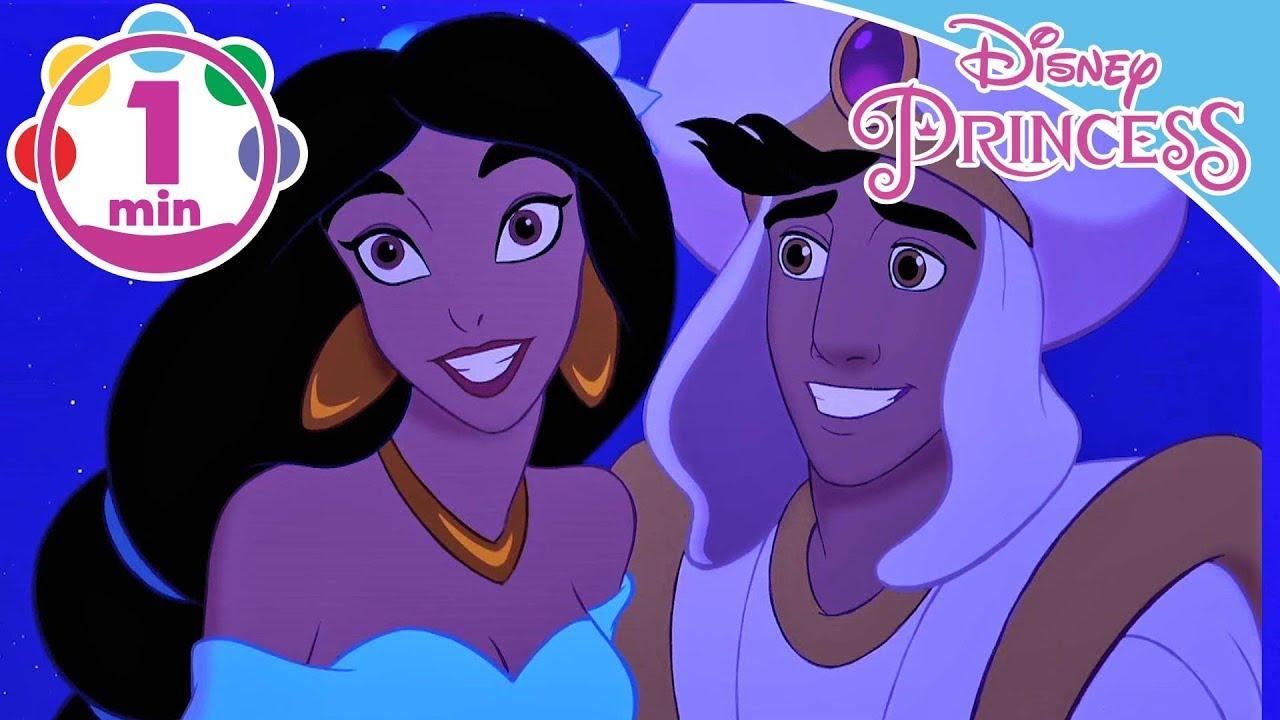 Aladdin A Whole New World Song Jasmine And Aladdin Disney Princess Youtube