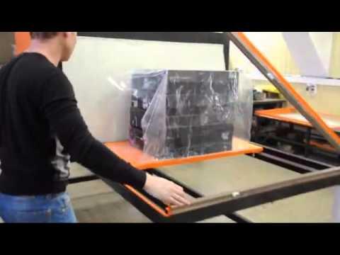 упаковка кондитерских изделий в термоусадочную пленку