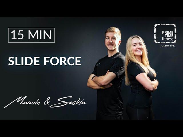 Slideforce mit Saskia & Marvin - Stabilisation, Gleichgewicht, Ausdauer, Kraft