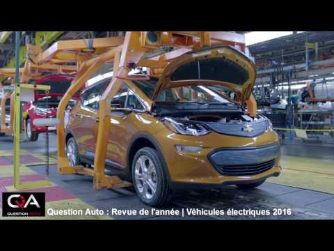 Revue Électrique | L'année 2016 de la voiture électrique et hybride branchable