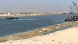 new Suez Canal on the first anniversary of the War of the Tenth of Ramadan 1973