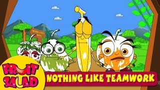 Favourite Kids Cartoon Stories - Fruit Salad - Nothing Like Teamwork