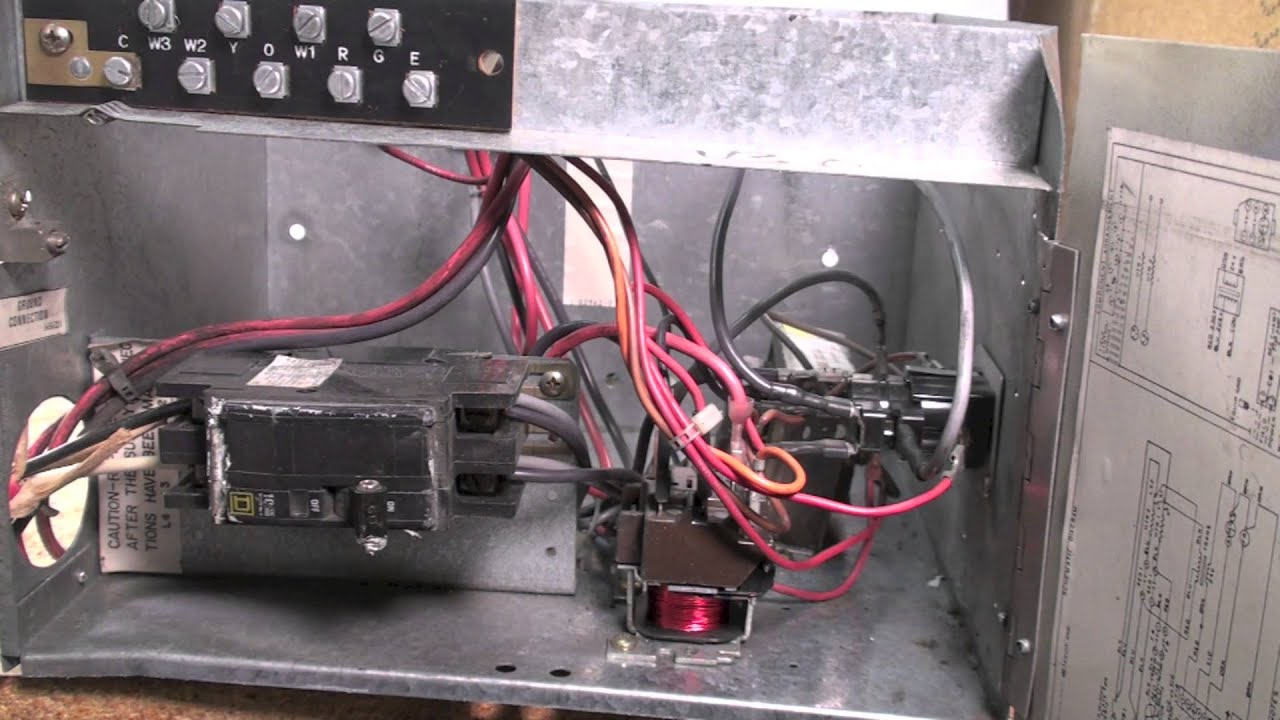 how to check for burned wires and terminals in the electric how to check for burned wires and terminals in the electric furnace part 4