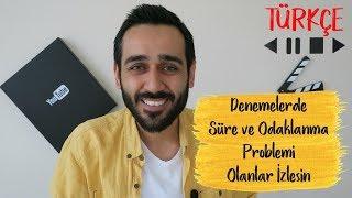Denemelerde Süre ve Odaklanma Problemi Olanlar, Hızlanmak İsteyenler İzlesin |Türkçe #DK3