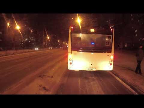 Не по маршруту. Мешают ли автобусы ?   ЗиУ - 682   Чебоксары