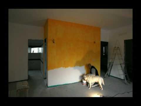 Colore pareti salone marcojr youtube for Pareti salone