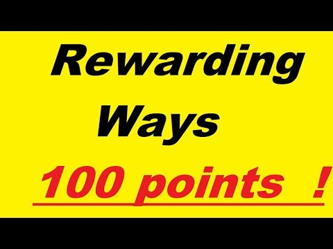 Rewarding Ways  j'ai converti 100 points = 1 $  ! :)