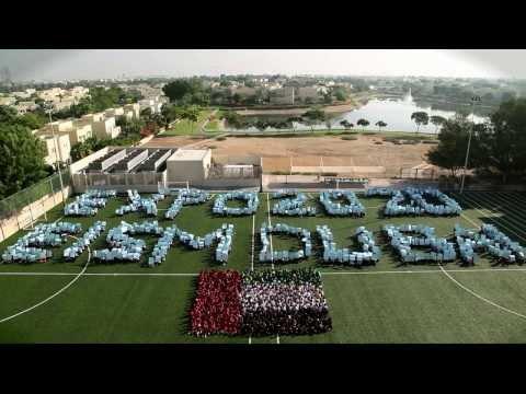 Emirates International School - Meadows students show their support for Dubai's Expo 2020 Bid