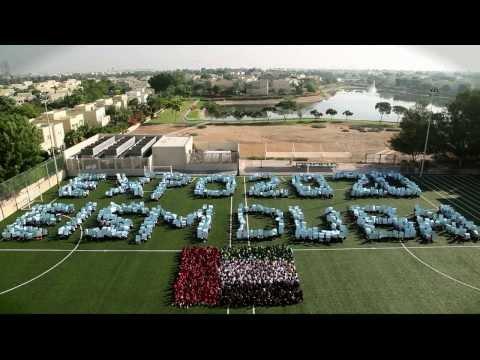 Emirates International School - Meadows students show their support for Dubai's Expo 2020 Bid