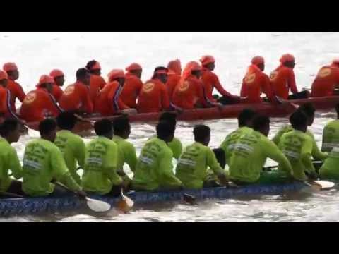 Laos-Simply Beautiful: Boat Racing Festival on the Mekong River, Vientiane Capital